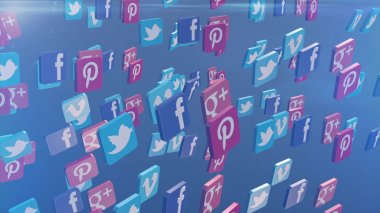 Social Media Communication Icons