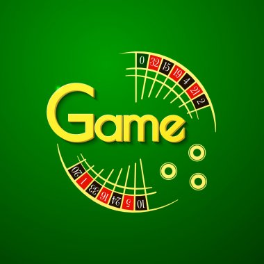Colorful game logo