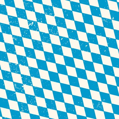 Pattern with blue and white rhombus