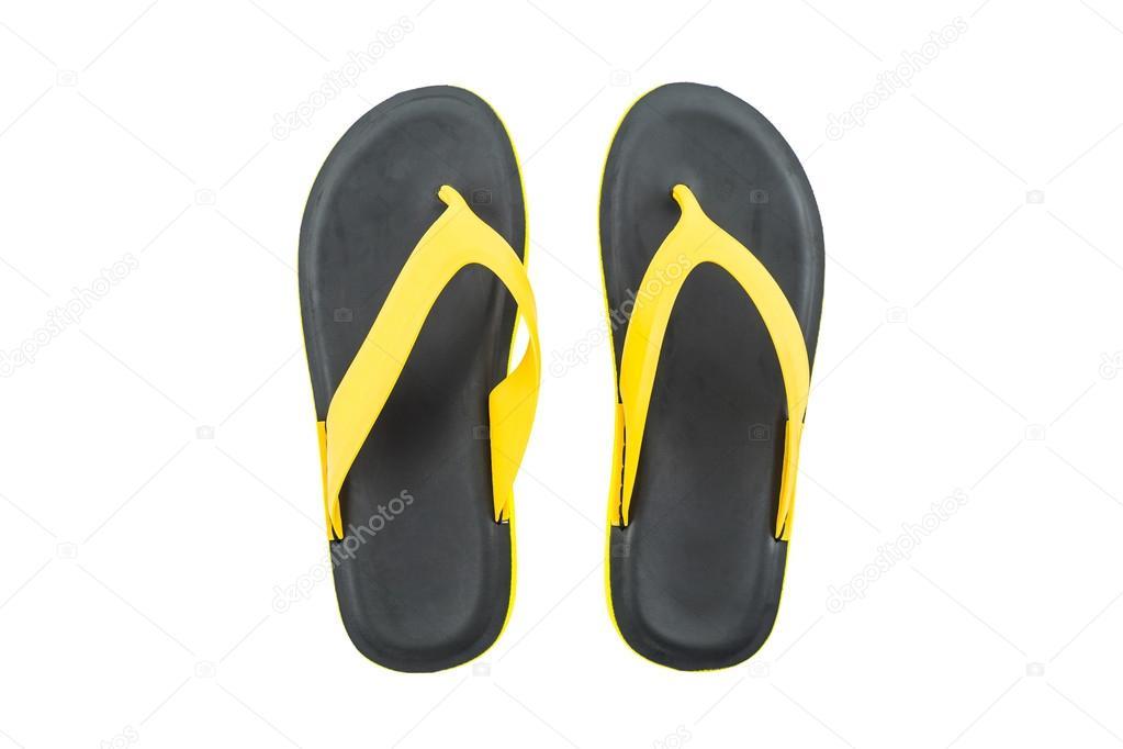 9b27ba920e4 Πολύχρωμο σανδάλια παπούτσια, κίτρινο και μαύρο σαγιονάρες ...