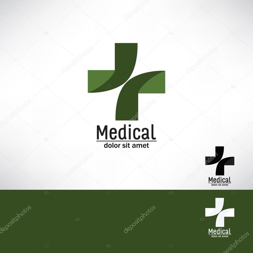 Green Cross Stock Vector Roilira 81784618
