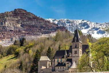 Church St Oswald And Erzberg-Eisenerz,Austria
