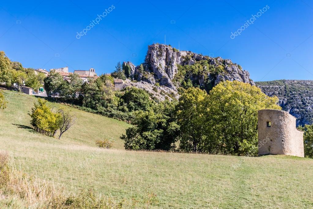 Town Near Gorges Du Verdon Canyon-Provence,France