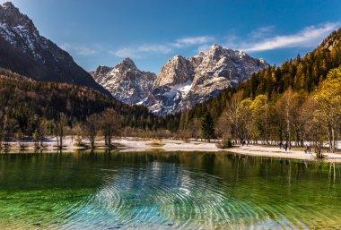 Jasna Lake,Mountain Range-Kranjska Gora,Slovenia