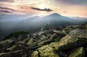 Fotografie Mountains summer landscape
