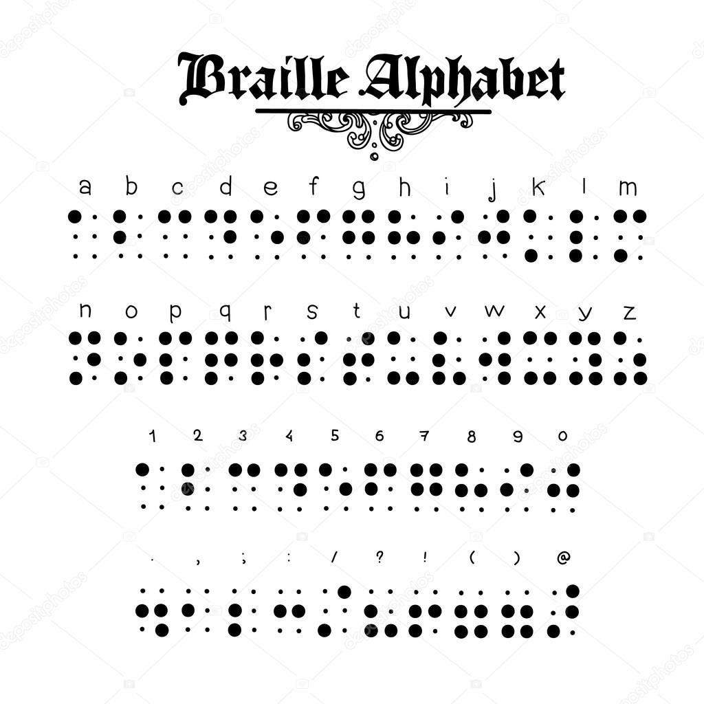 braille alphabet illustration stock vector meinlp comm 95986506