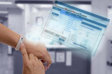Electronic medical record technology.