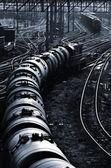 industrielle Eisenbahn-Ansicht