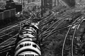 Fotografie Industriebahn-Ansicht