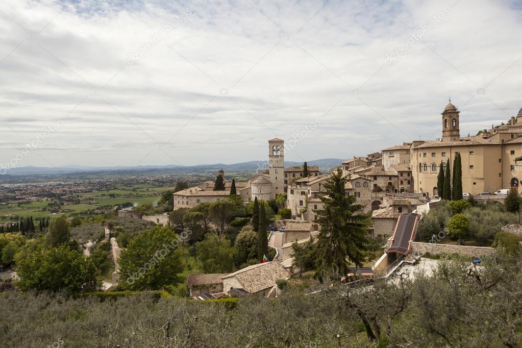Map Of Gubbio Umbria Italy Stock Photo C Aphonua 60446389