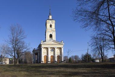 Church of Elijah the Prophet on a powder. Saint Petersburg