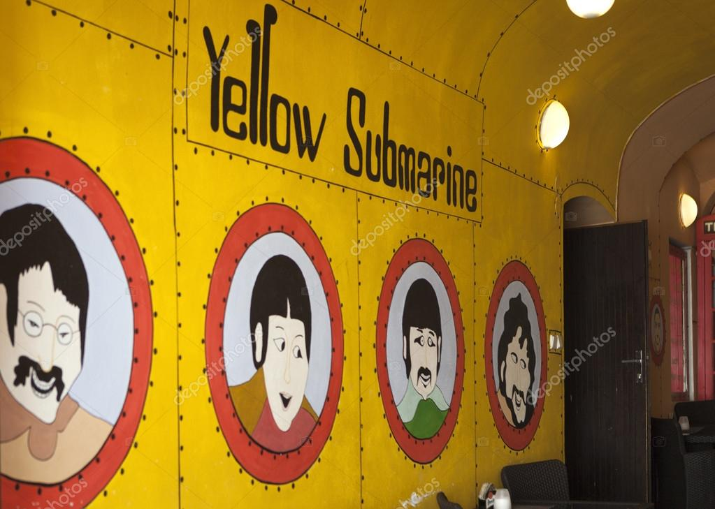 Photo of Yellow Submarine in the John Lennon pub. – Stock Editorial ...