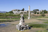 Fotografie The ruins of the Temple of Artemis. Selcuk. Turkey.