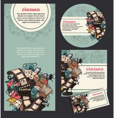 Movie cinema banners