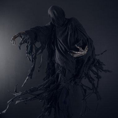 Death on a black background, Dementor
