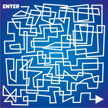 line maze - business theme