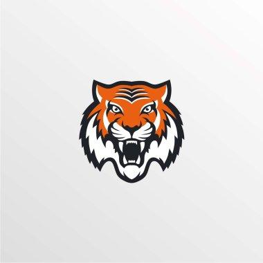 tiger logo. Vector