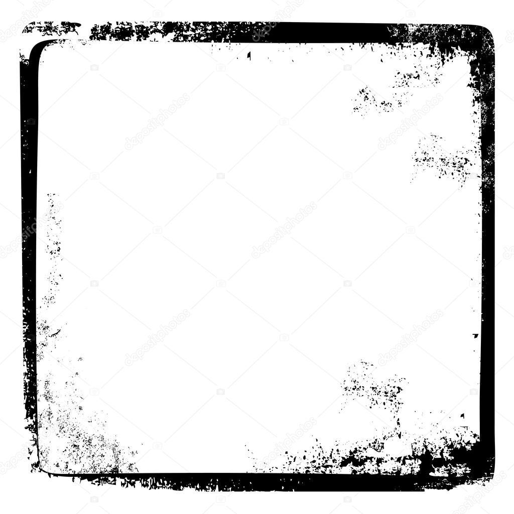 Marco de página rota Grungy — Archivo Imágenes Vectoriales ...