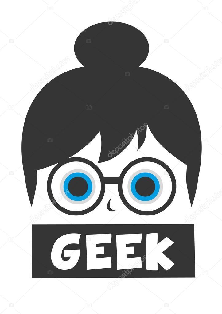 Cartoon Geek Glasses