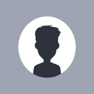 Male person silhouette