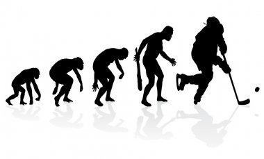 Evolution of the Ice Hockey Player