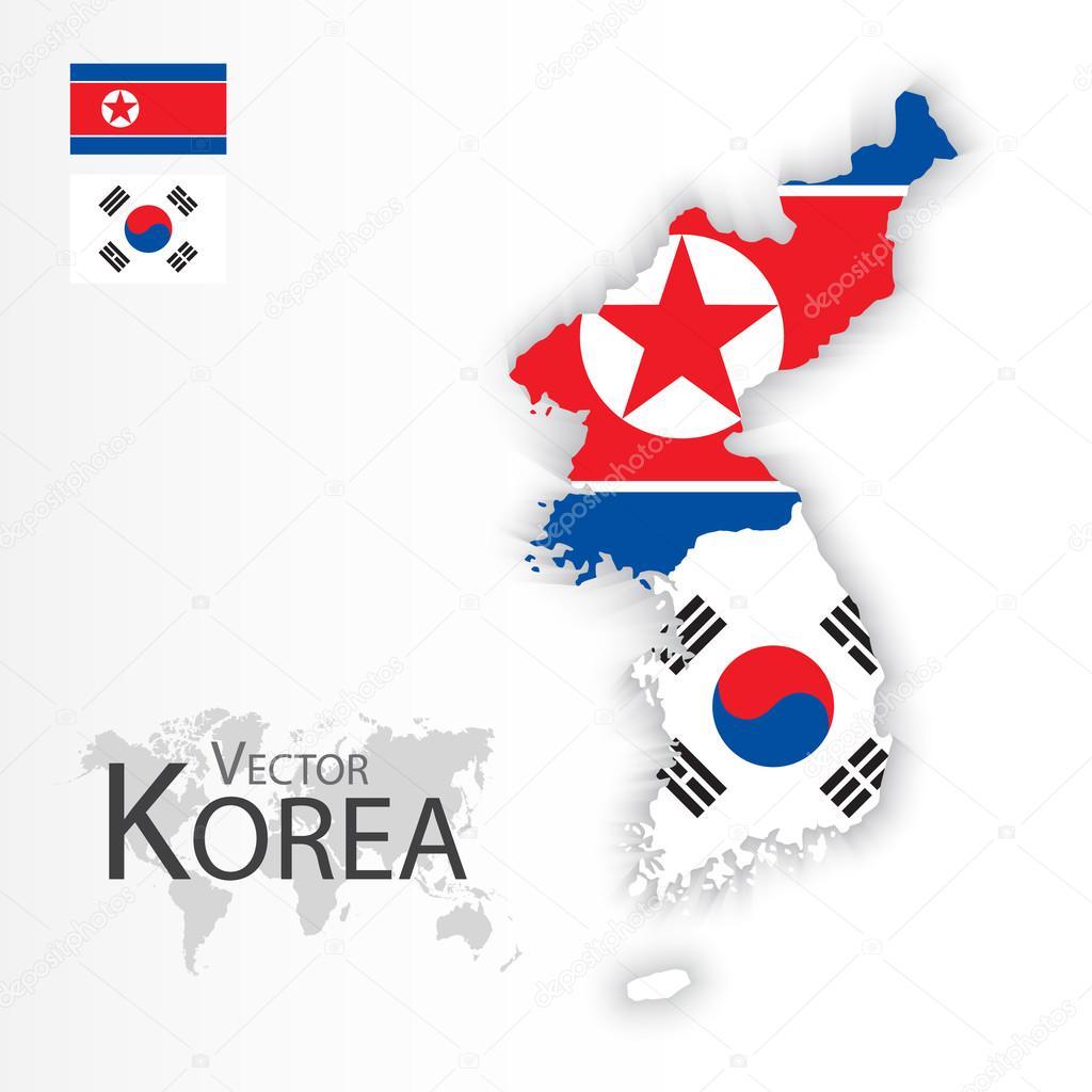North Korea ( Democratic People \'s Republic of Korea ) and South ...