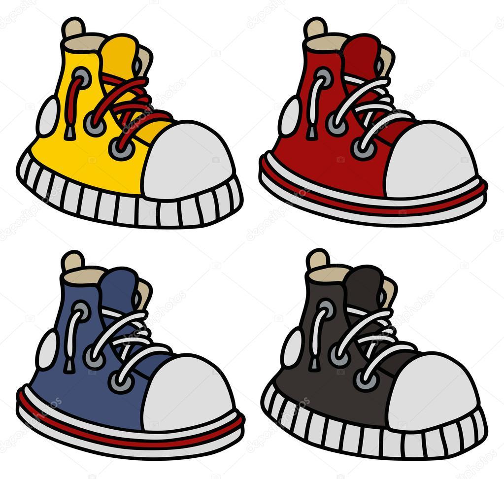 Zapatillas © Archivo — 2v Color De Imágenes Clásico Vectoriales CBrQodWxeE