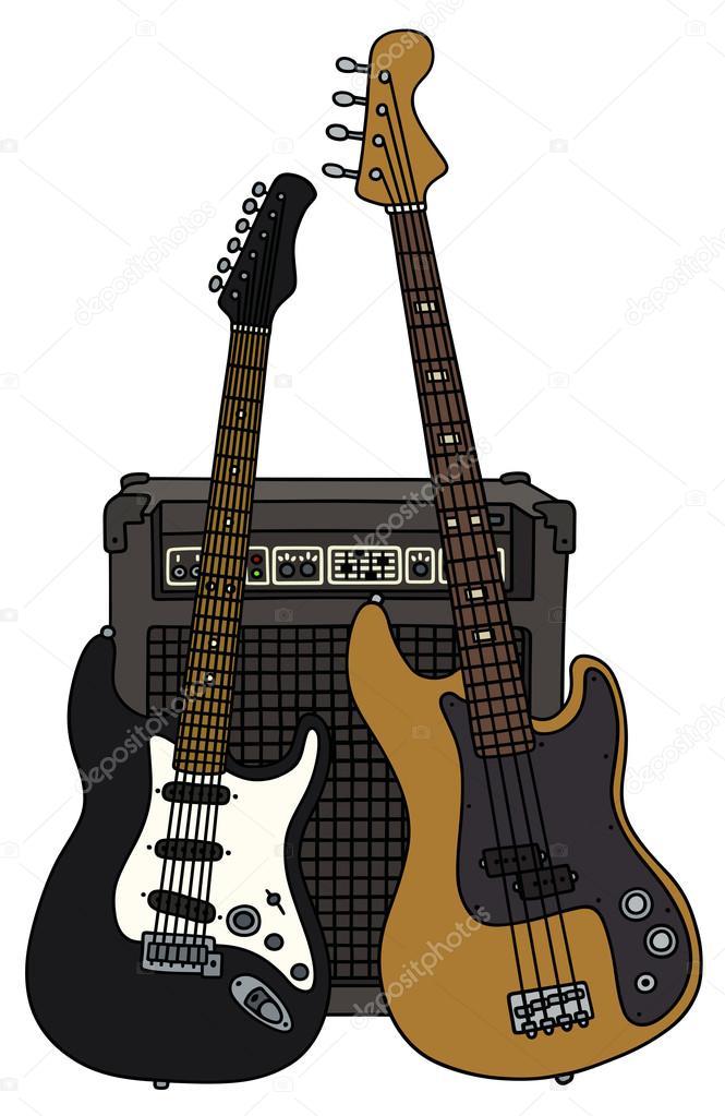 Dibujos Para Guitarras Electricas Guitarras Eléctricas Y El Combo