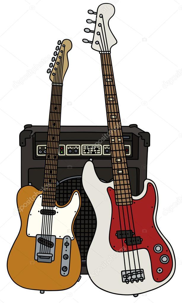 Dibujos Guitarras Electricas Guitarras Eléctricas Y El Combo