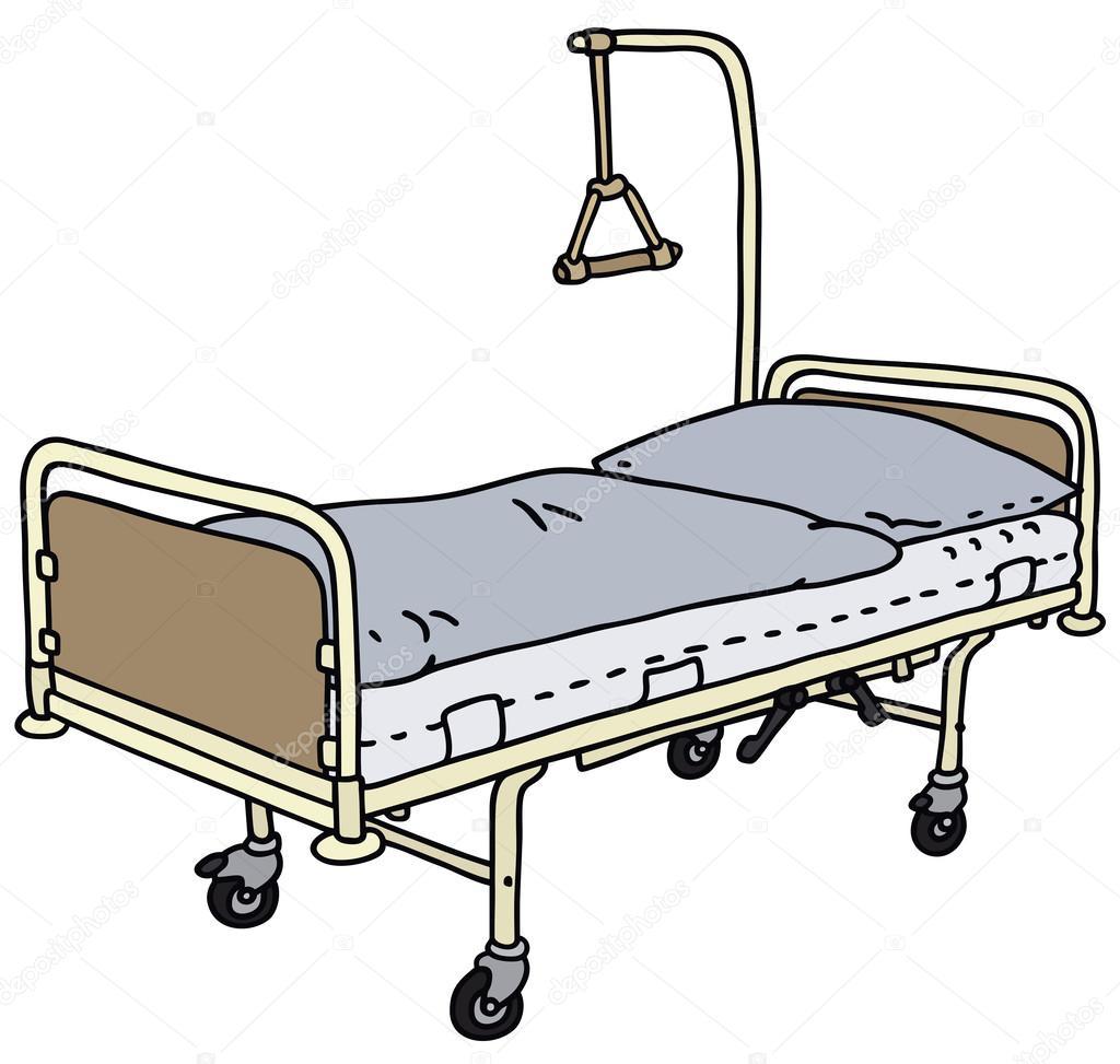 nemocničn 237 lůžko stock vektor 169 2v 54768425