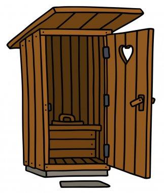Funny old latrine
