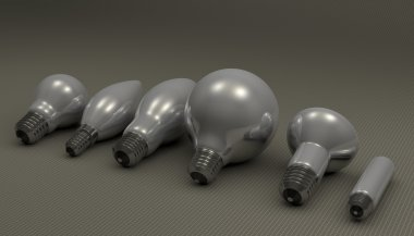 Various light bulbs