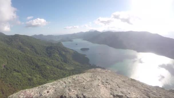 view of the trail of Juatinga in Paraty, Rio de Janeiro, Brazil.