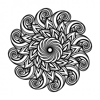 Beautiful Deco Mandala