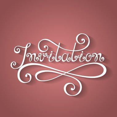 Invitation Inscription, Holiday Invitation, Wedding