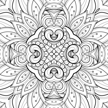Seamless Abstract Tribal Pattern