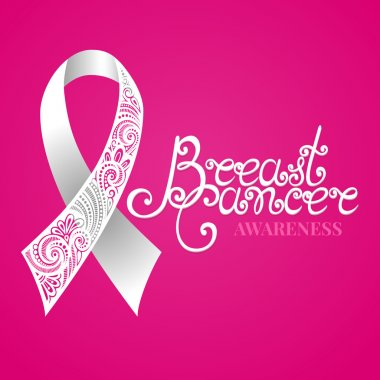 Breast Cancer Ribbon Card