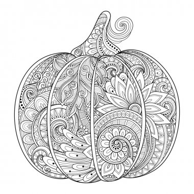 Decorative Pumpkin with Beautiful Pattern