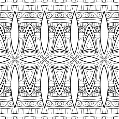Abstract Ornament Tribal Pattern