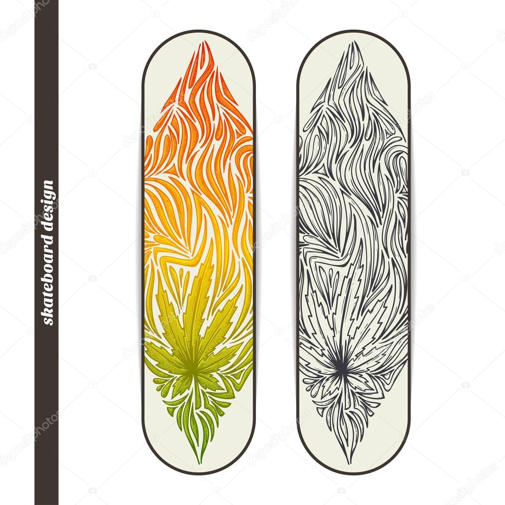 Skateboard Design Three