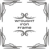 Photo Wrought Iron Frame Two