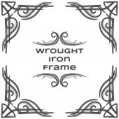 Photo Wrought Iron Frame Seven