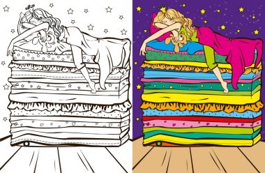 Colouring Book Of Sleeping Beauty