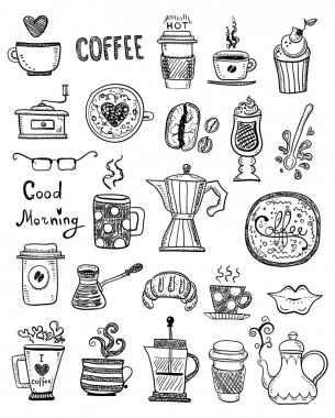 Coffee Doodles  illustration