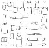 Fotografie Cosmetics symbol set