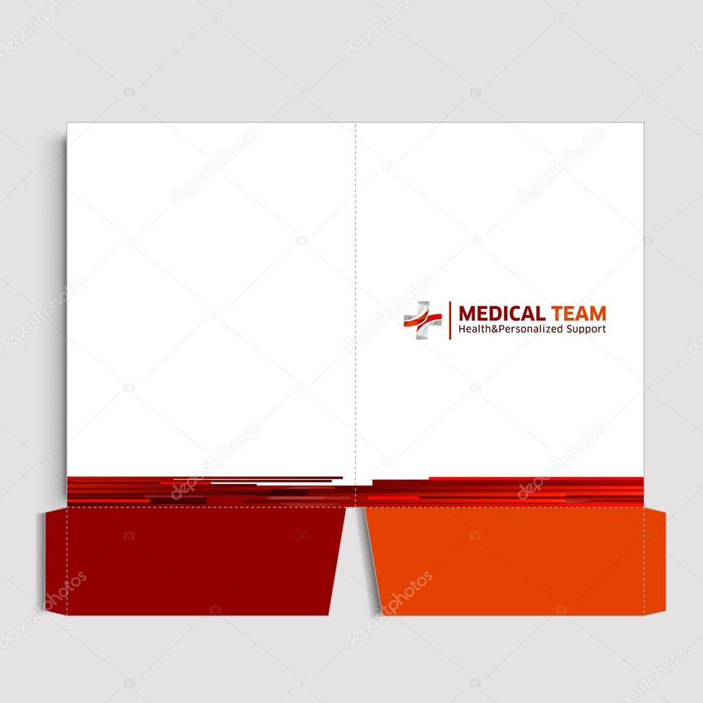 Folder Corporate identity — Vector de stock © aranjuezmedina #77007227