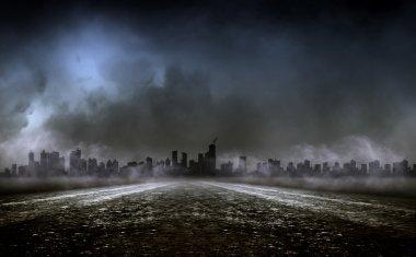 Dense fog on realm,