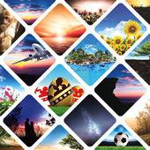 Příroda a cestování abstraktní obrázek