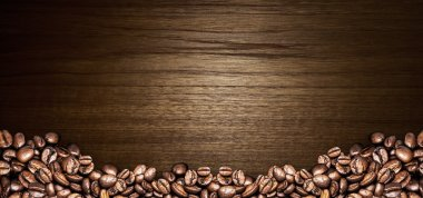 Coffee abstract illustration and menu background