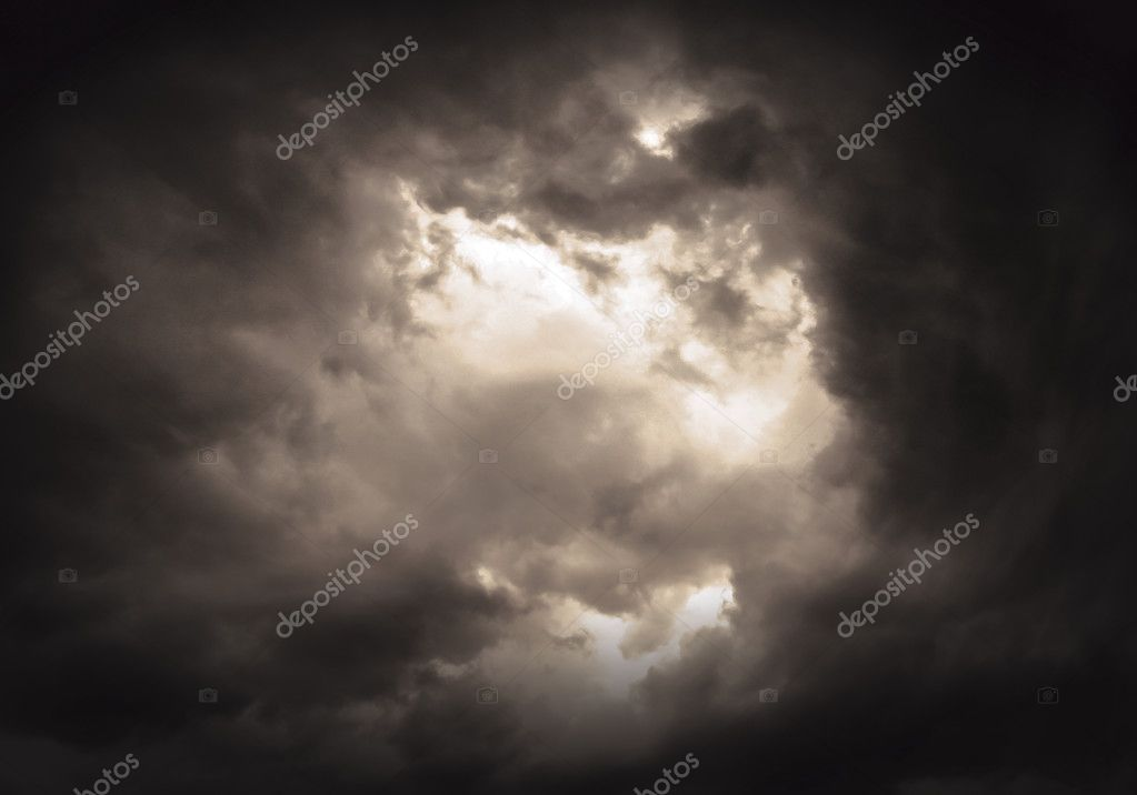red cloud background